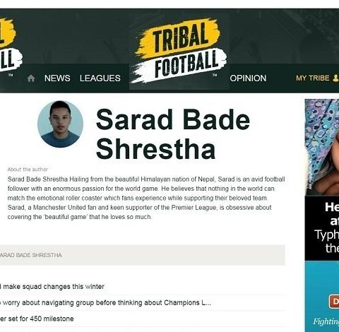 Tribal Football - Centre